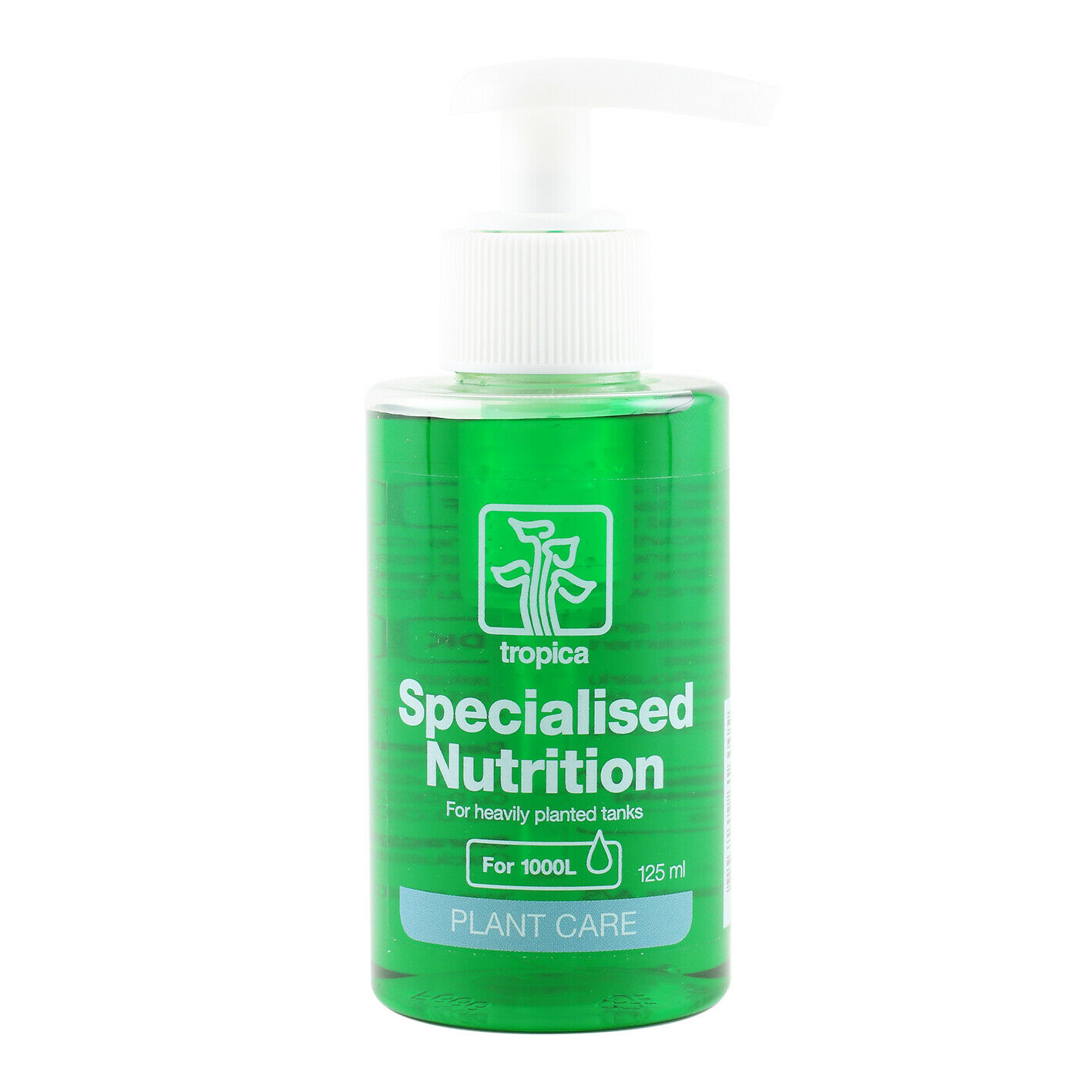 Tropica Specialised Fertiliser 125ml Liquid Fertilizer Planted Aquarium Plants