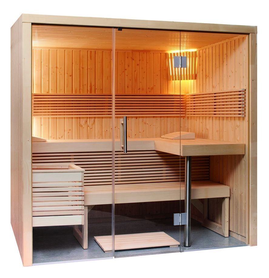 sauna mit glasfront harvia steamer bio saunaofen steuerung f hler 214 x 160 cm eur. Black Bedroom Furniture Sets. Home Design Ideas