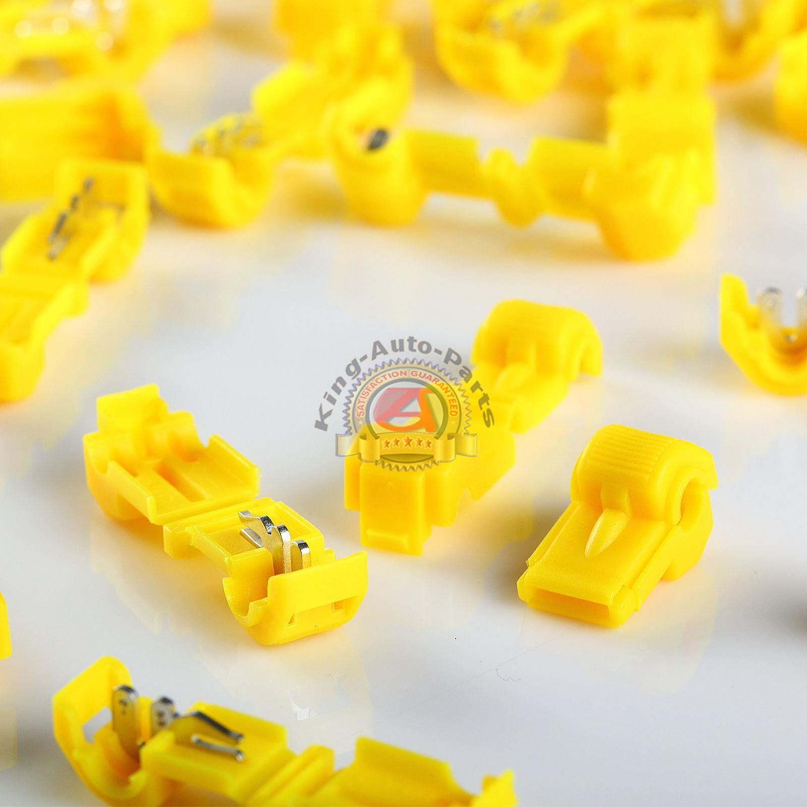 T Tap Quick Wire Connectors Yellow 12 10 Awg Gauge Car Audio Wiring 1 Of 1only 5 Available