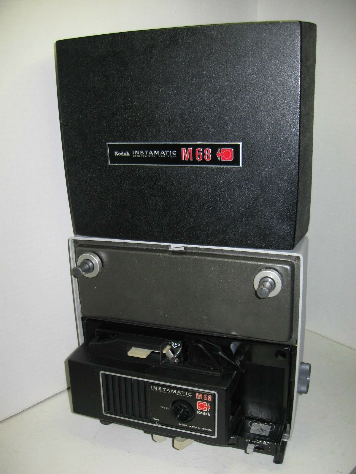 Vintage Kodak Instamatic M68 Movie Projector Super 8 1 of 9Only 1 available  ...