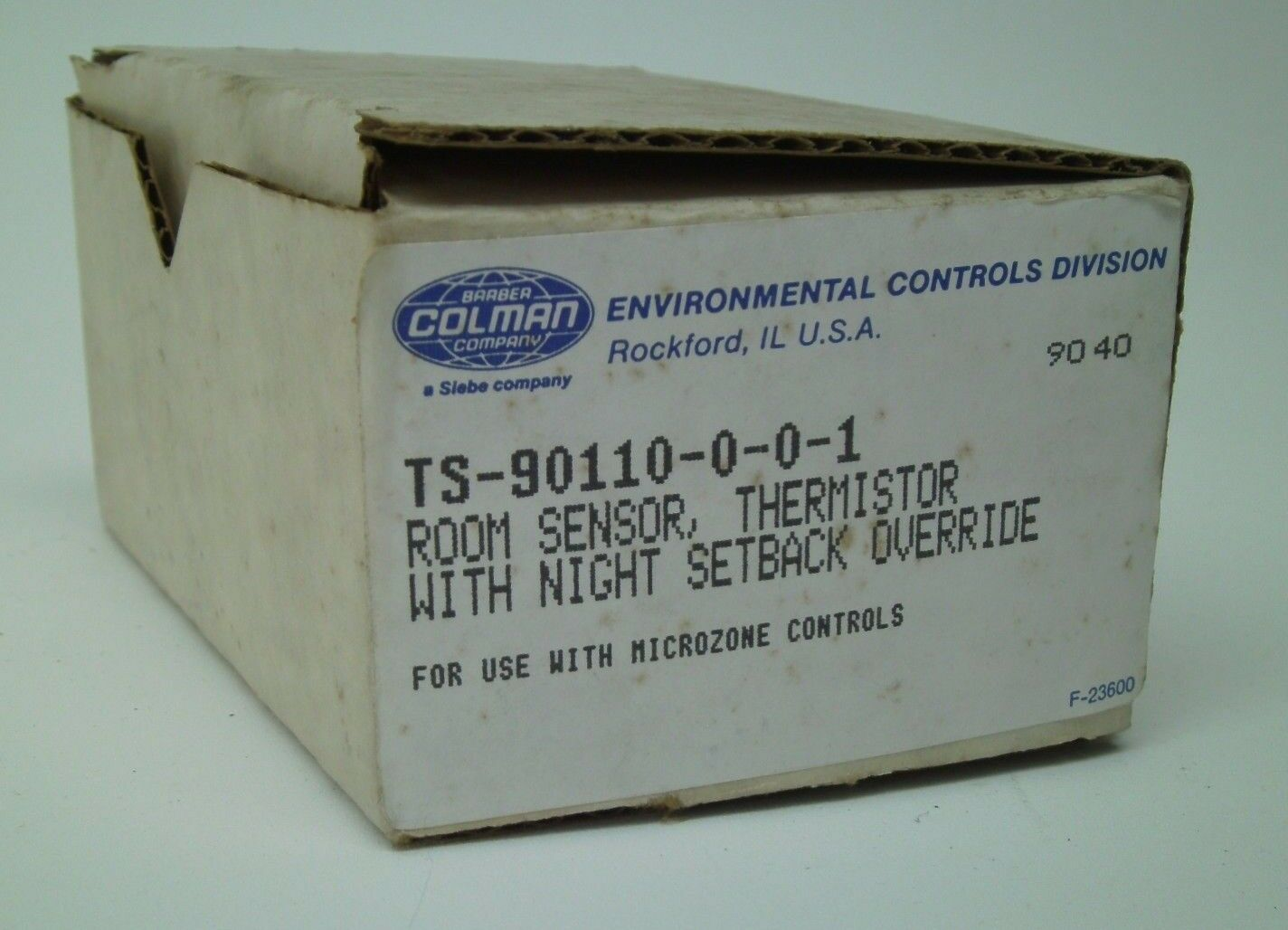 Barber Colman Thermostat Room Sensor TS-90110-0-0-1 w/ 1 of 7Only 2  available Barber Colman ...