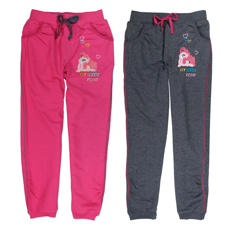 Girls Official My Little Pony Tracksuit Bottoms Jogging Age 3 4 5 6 7 8