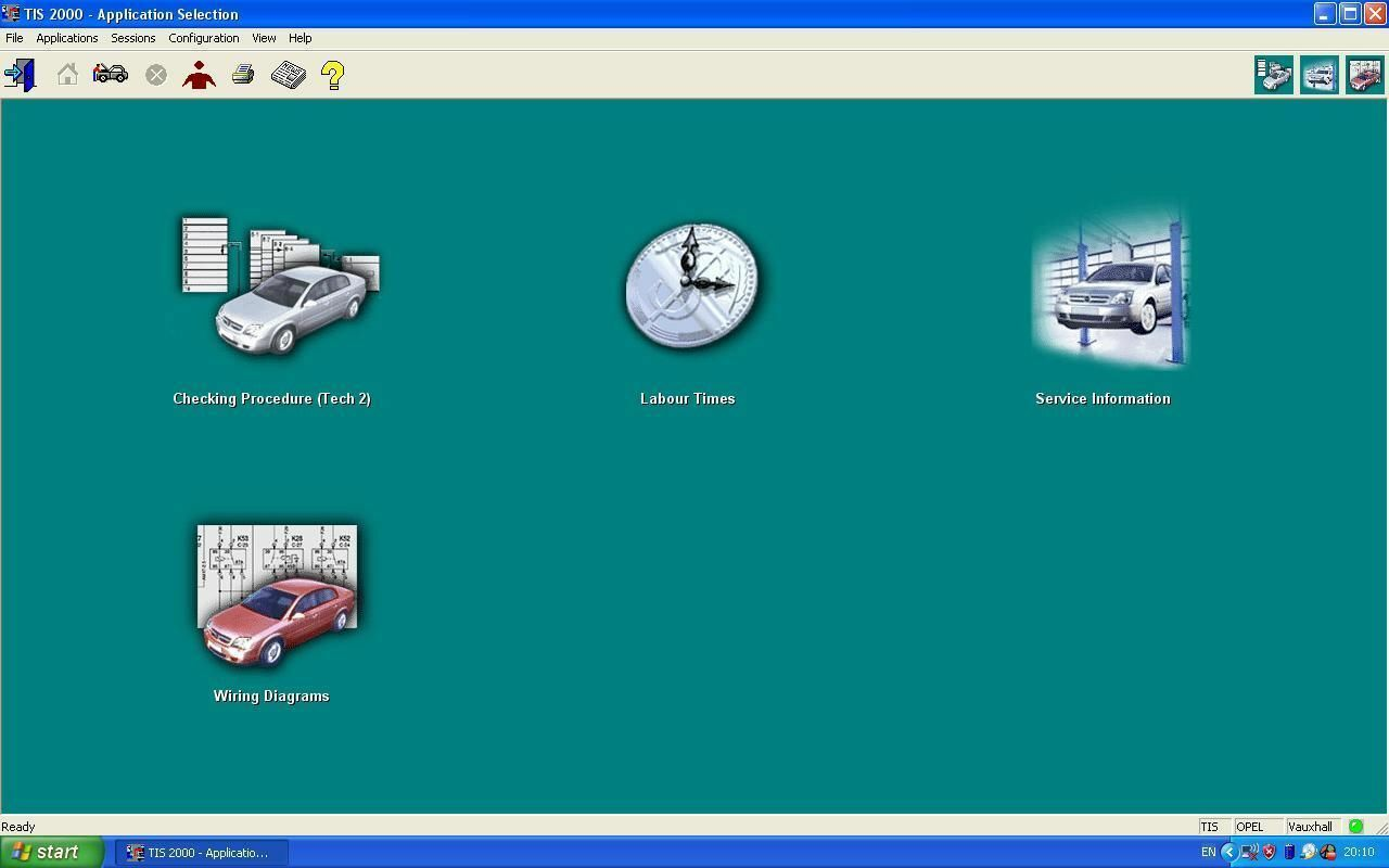 Vauxhall Opel Tis 2000 *download* 1 of 1FREE Shipping ...