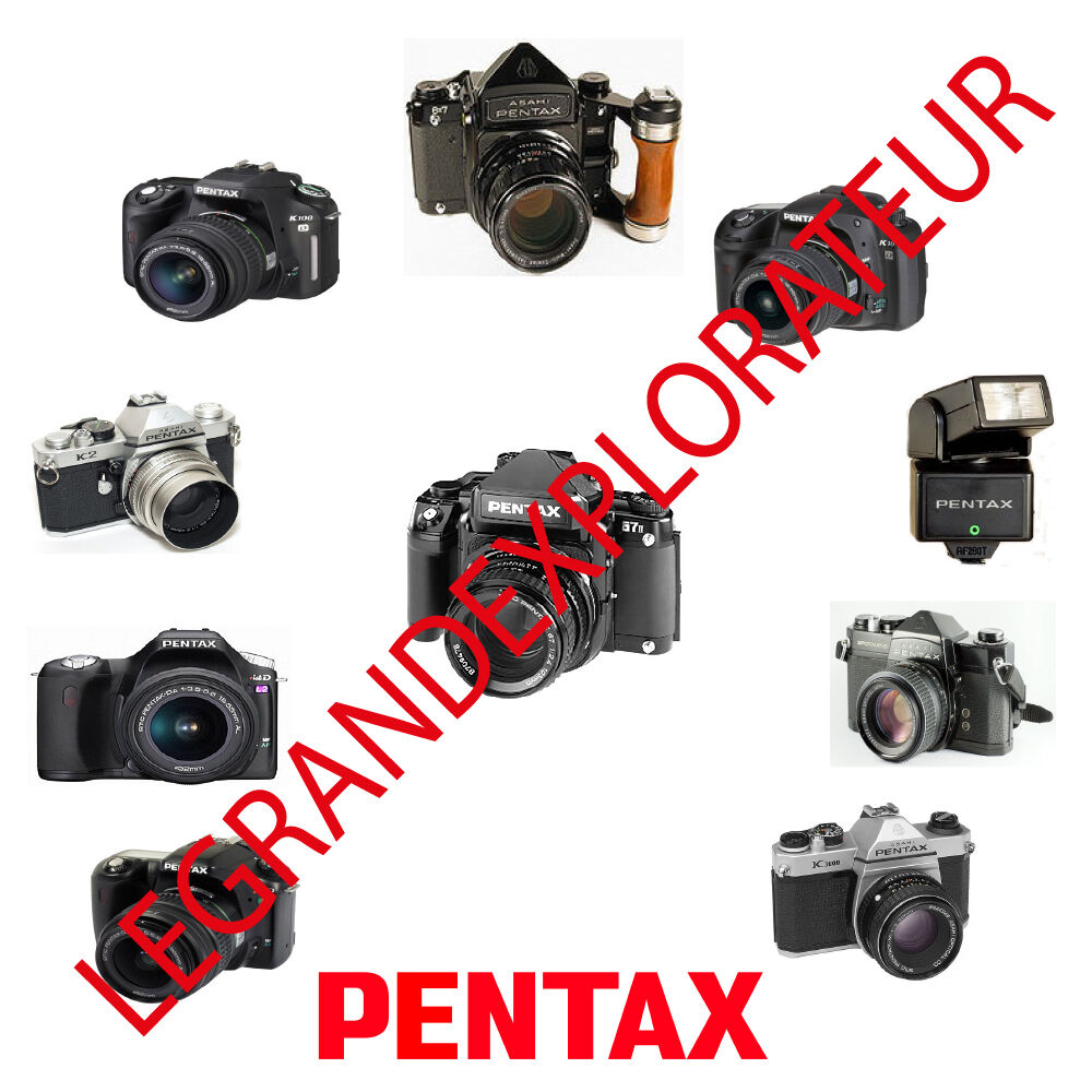 Ultimate Pentax Camera Operation Repair Service manual Collection on DVD 1  of 1Only 4 available ...