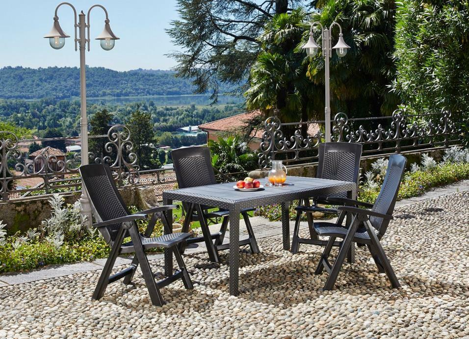 gartenm bel set garten sitzgruppe gartengarnitur lounge gruppe wetterfest kong eur 222 00. Black Bedroom Furniture Sets. Home Design Ideas