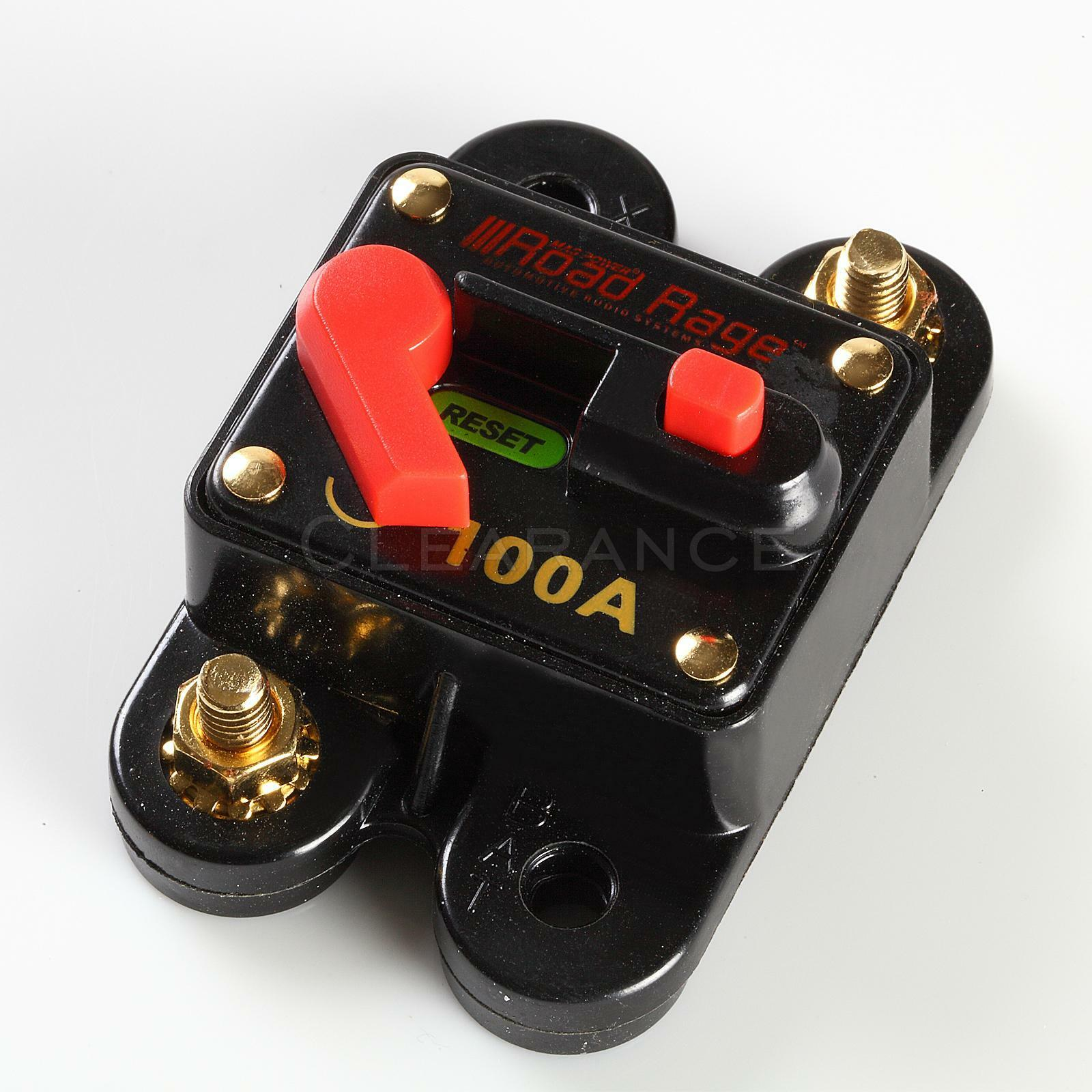 12v Car Auto Boat Audio Fuse High Power 100 Amp Manual Reset Circuit Automotive Breaker 1 Of 3free Shipping