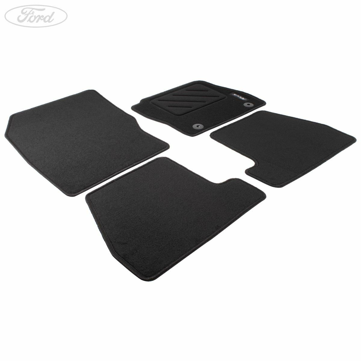 Genuine Ford Focus MK3 Front & Rear Floor Mats Carpet Set of 4 Black ST  1893548 1 of 4FREE Shipping ...