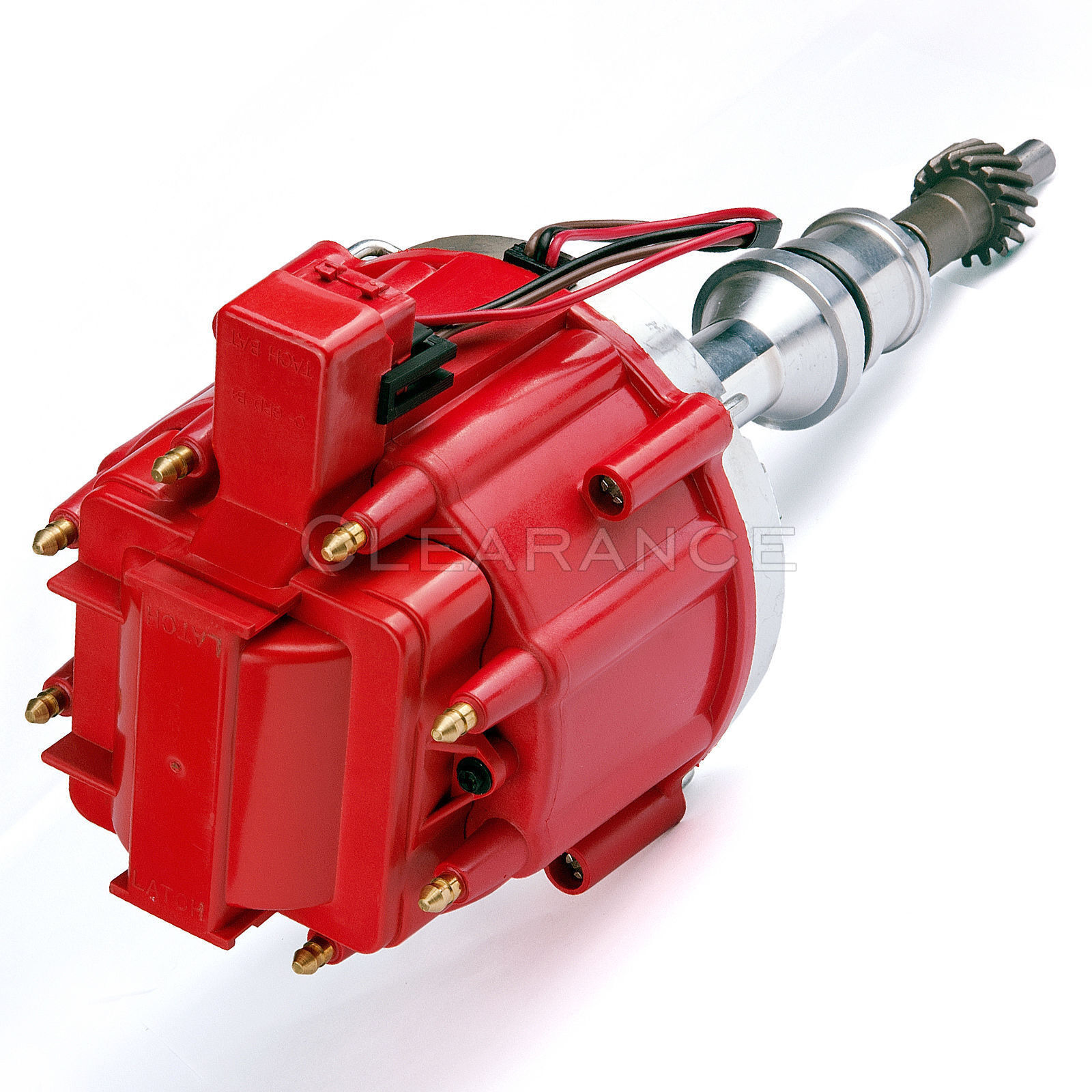 Red Cap Distributor W 65k Coil Sbf Ford Small Block 260 289 302 Hei Ignition Wiring 1 Of 6only 4 Available
