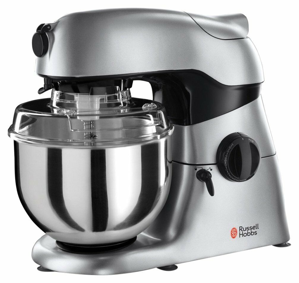 russell hobbs 18553 kitchen stand mixer and blender 4 6 l silver rrp 229 picclick uk. Black Bedroom Furniture Sets. Home Design Ideas