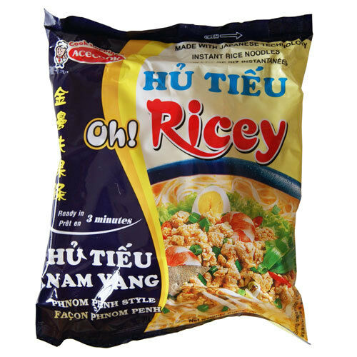 acecook oh ricey instant rice noodles phnom penh style flavour 24