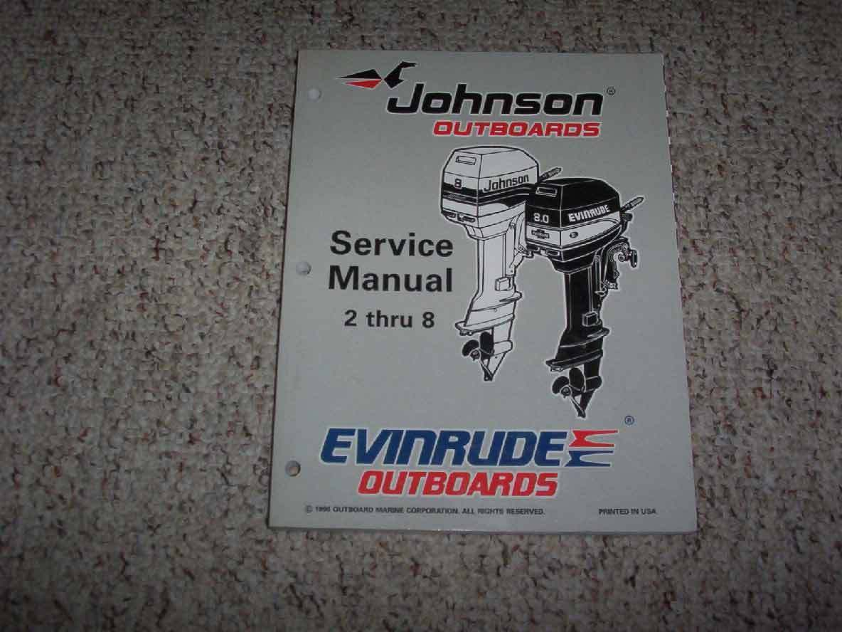 1997 Johnson Evinrude 2 2.3 3.3 3 HP Outboard Motor Service Repair Manual 1  of 1Only 1 available ...