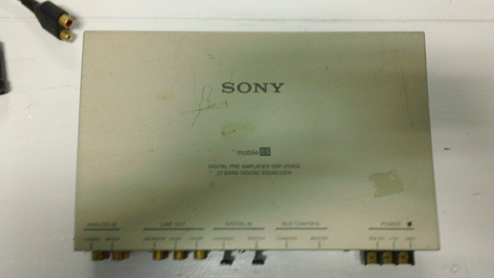 Sony Mobile Es Digital Preamplifier Xdp 210eq 21 Band Eq 2 1 Of 3free Shipping