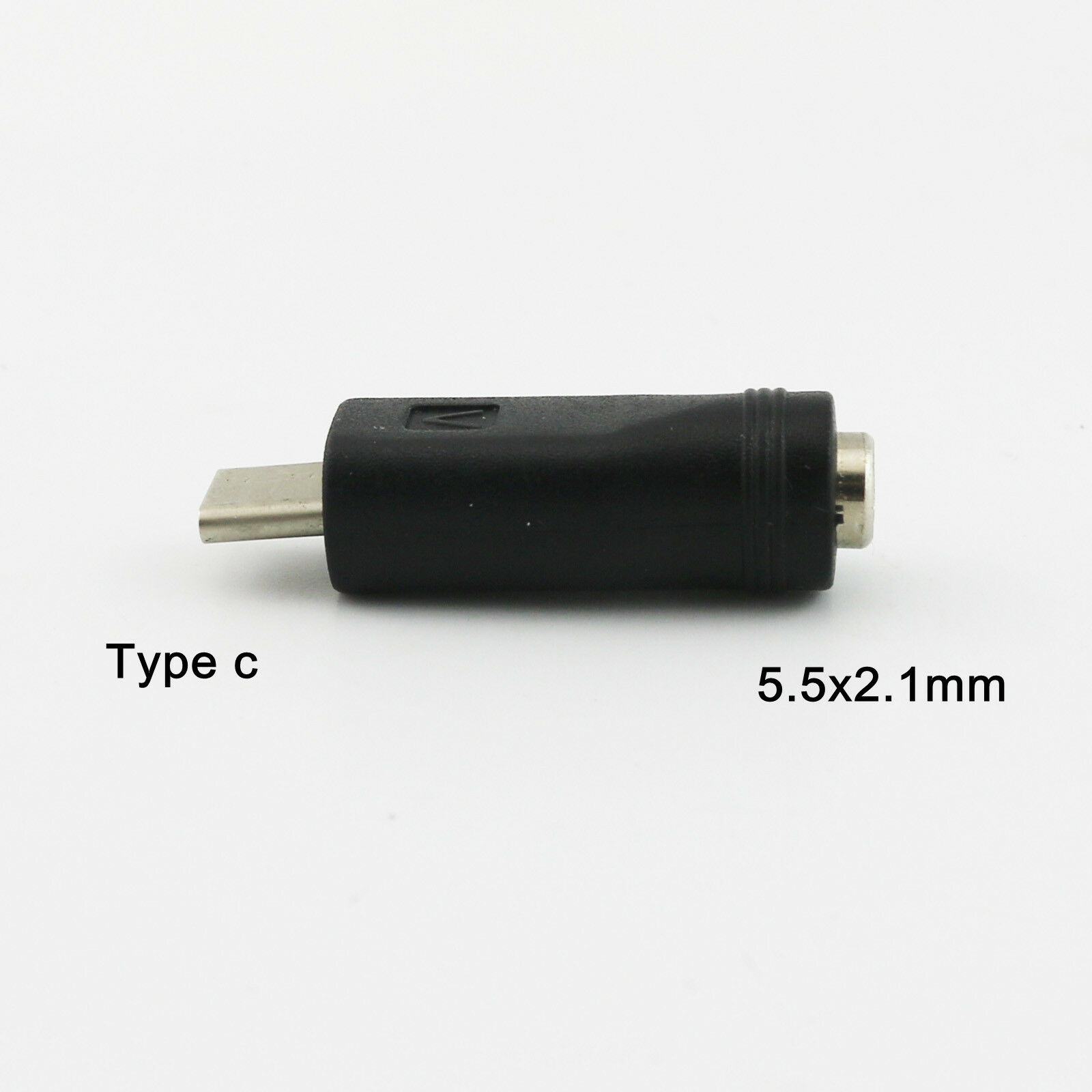 Usb 31 Type C Male Plug To 55mm X 21mm Female Dc Power Jack 35mm Audio Converter White 1 Of 7 See More