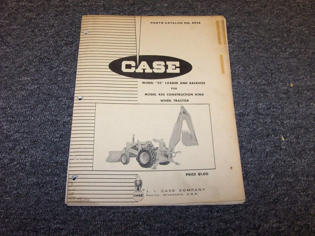 Case 480f Backhoe Parts Diagram Tractor Wiring Loader Catalog Manual For Contruction King Of Only Available 1200x900