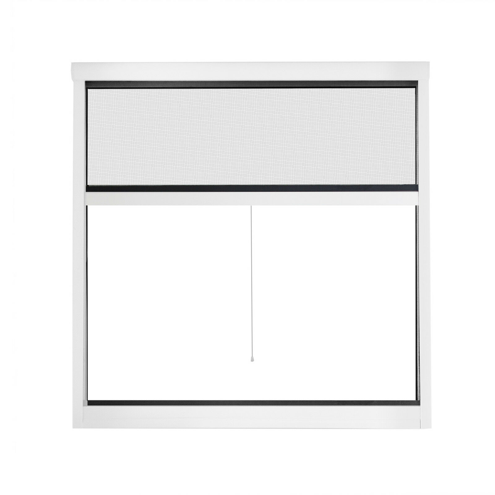 insektenschutzrollo fenster kleben gitter ohne bohren klebfix 130x160cm wei eur 27 99. Black Bedroom Furniture Sets. Home Design Ideas