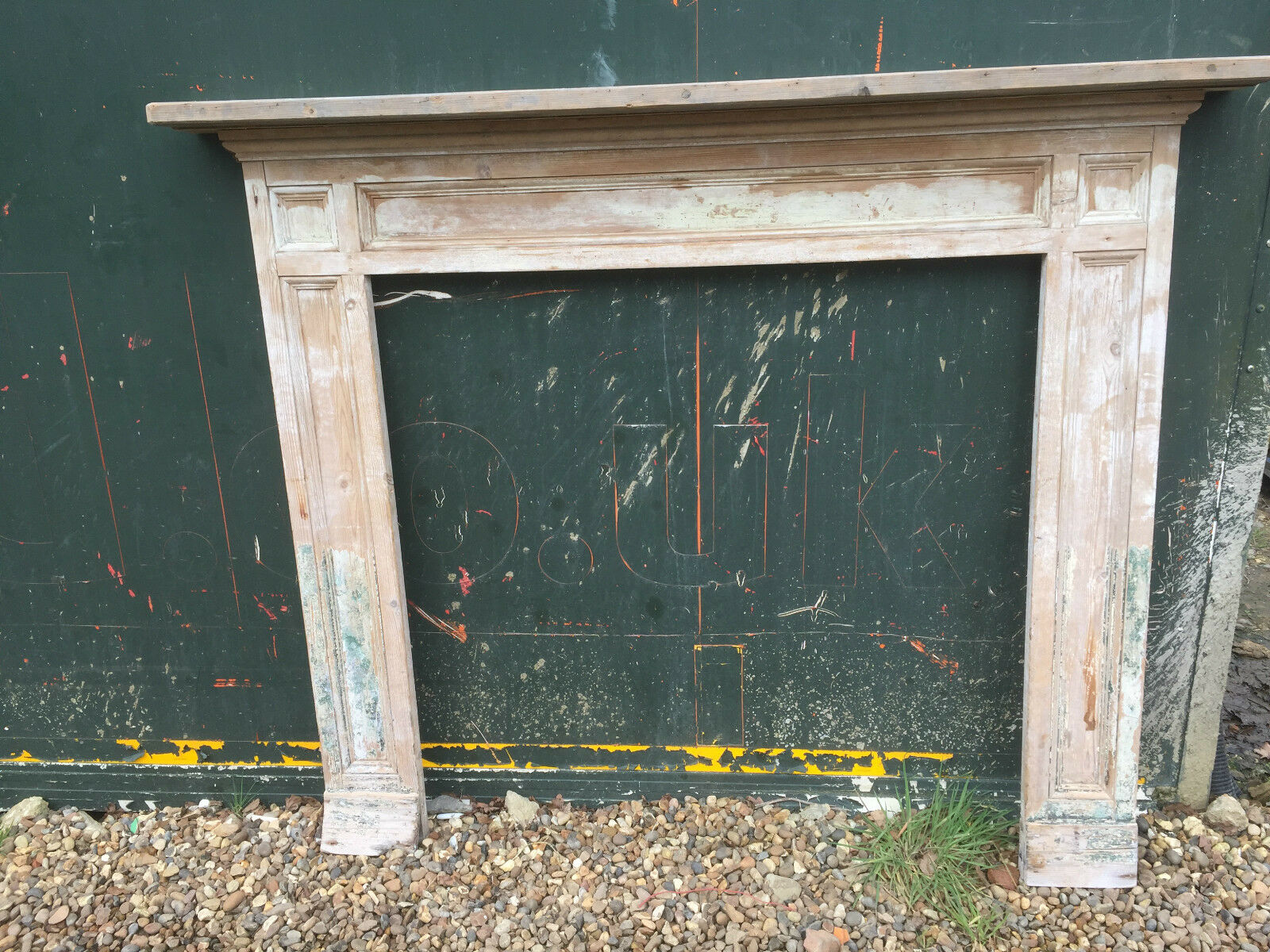 Reclaimed Victorian Edwardian Pine Fireplace Antique Fire Surround Picclick Uk