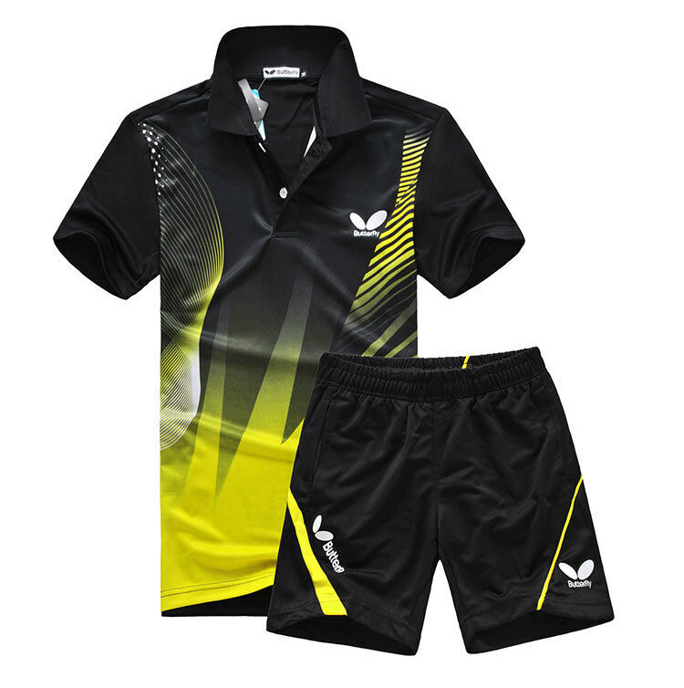 Butterfly Professional Table Tennis T Shirt And Shorts