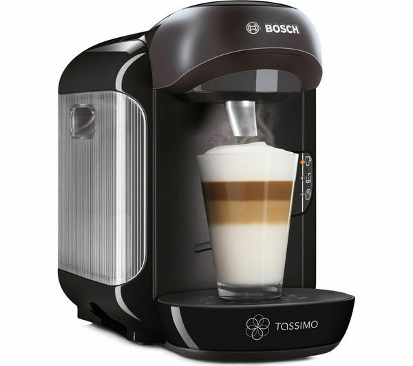 bosch tassimo vivy hot drinks coffee pod machine black tas1252gb picclick uk. Black Bedroom Furniture Sets. Home Design Ideas