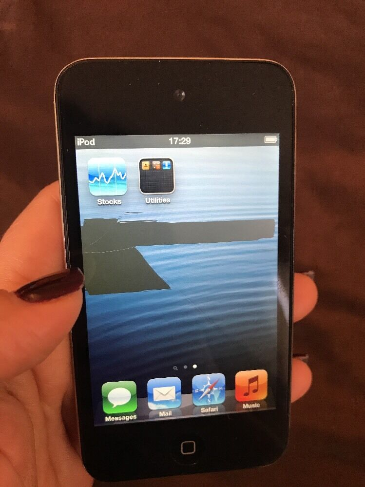 Apple iPod touch 4th Generation Black (8GB) - EUR 27,87 ...