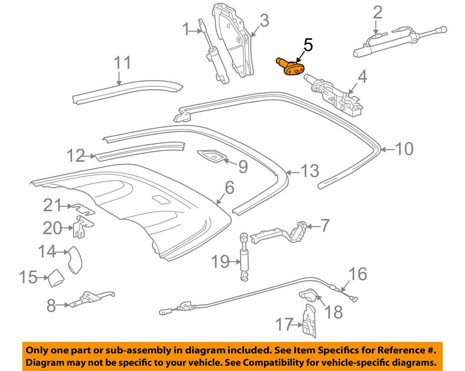 Mercedes Clk 320 Engine Diagram Wiring Library 1 Of 2only 5 Available Oem Clk320