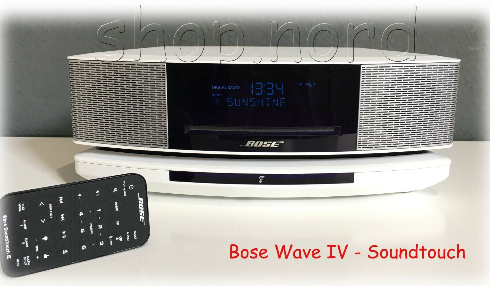 bose wave soundtouch music system iv schwarz black restgarantie ovp eur 745 00 picclick de. Black Bedroom Furniture Sets. Home Design Ideas
