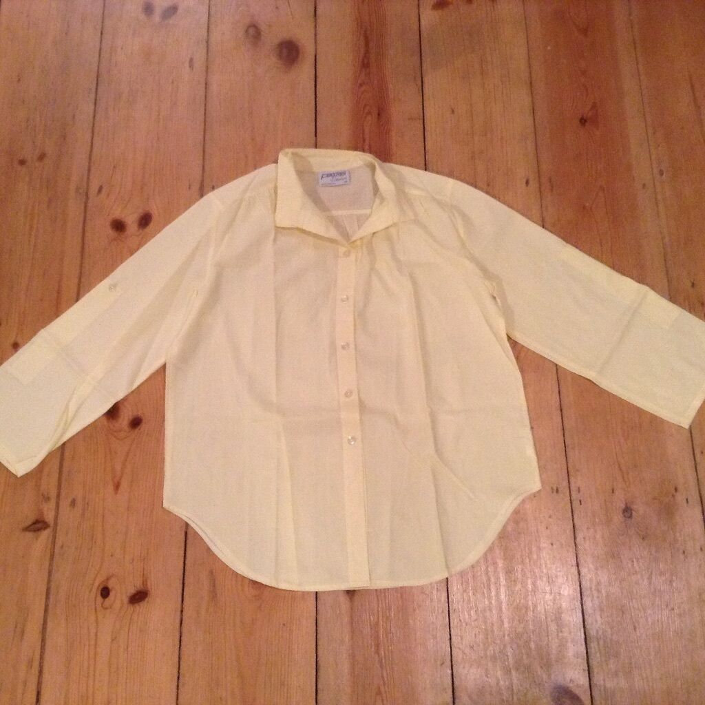 Womens Ladies Features by Debenhams Yellow Size 14 Vintage ...