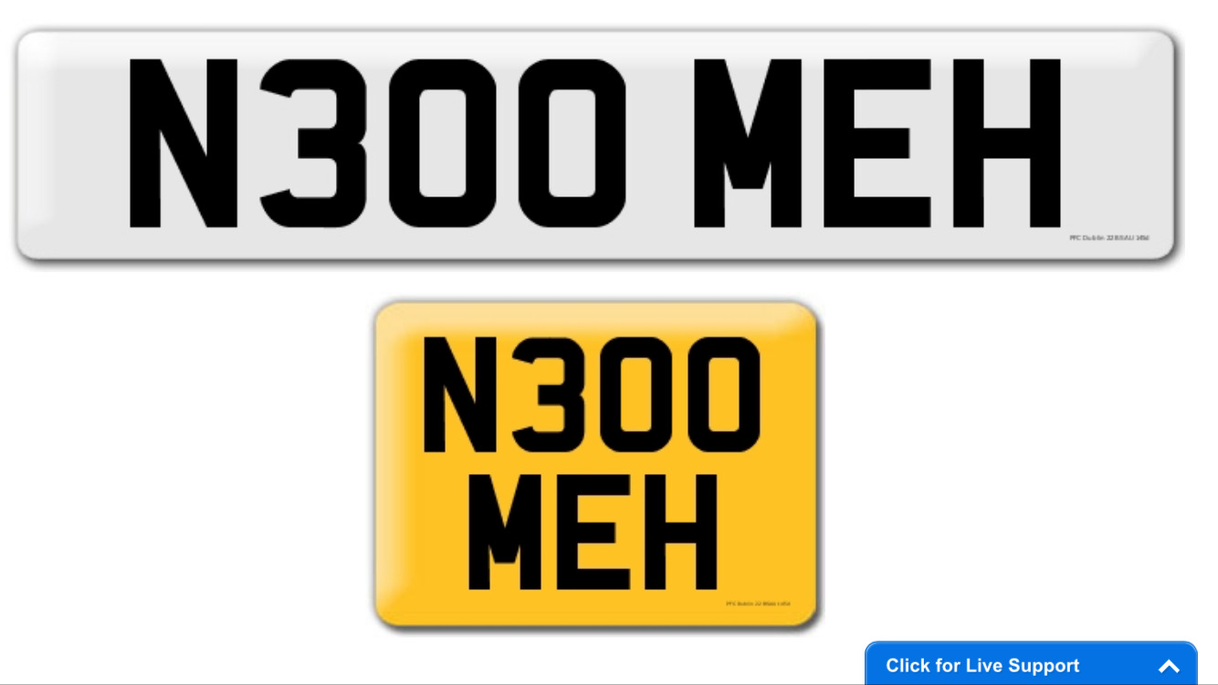 Check cherished-number-plates.co.uk's SEO - woorank.com