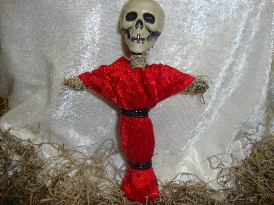 AUTHENTIC VOODOO DOLL Red with Pins • CAD $10.15 - PicClick CA