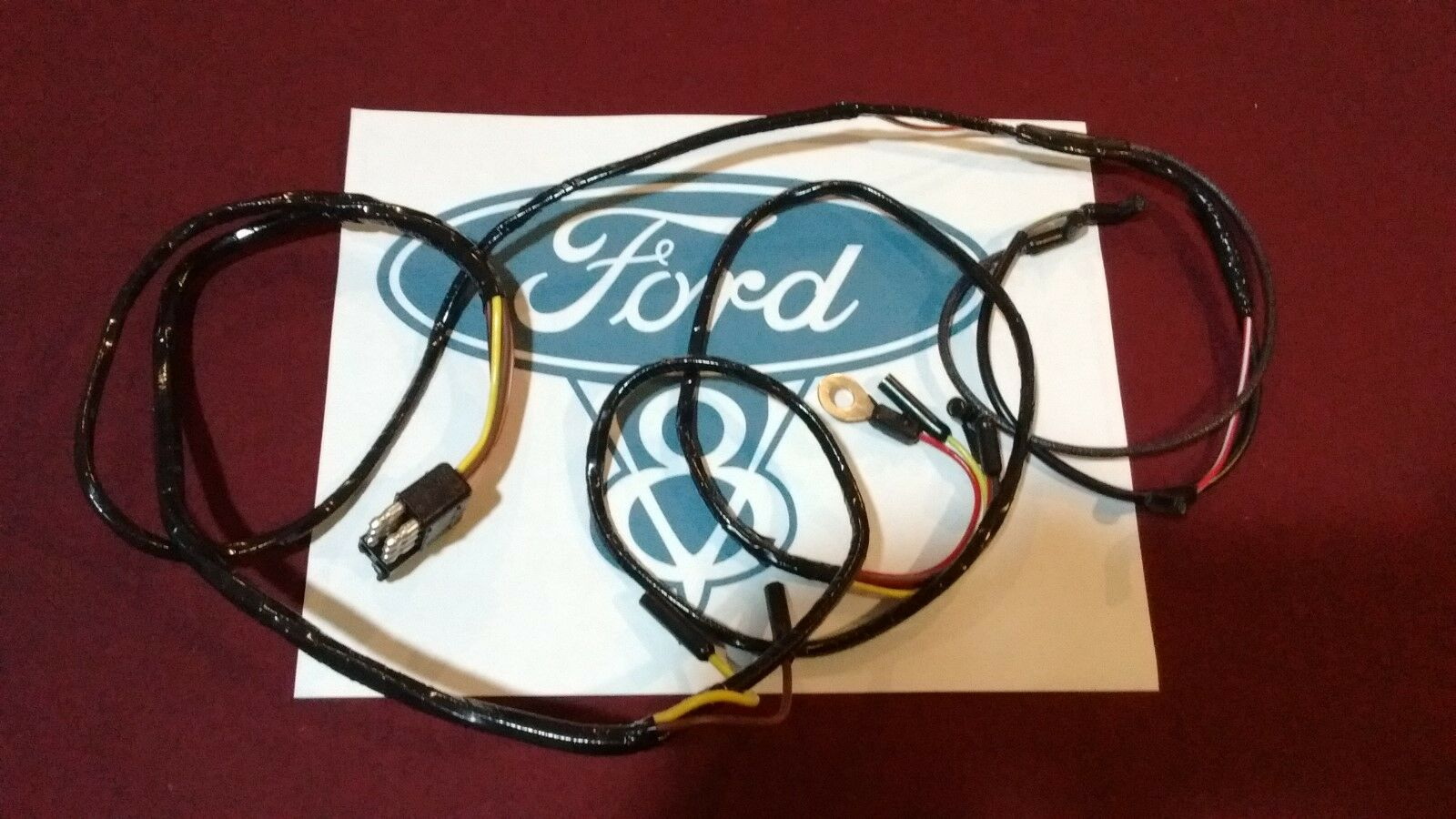 66 Ford Mustang v8 Engine Gauge Feed Wiring Harness 1966 289 1 of 3Only 5  available ...