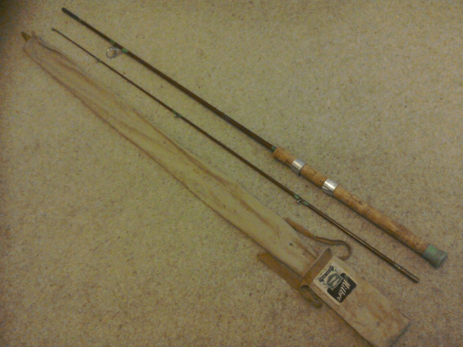 Vintage spinning rod picclick uk for Old fishing rods