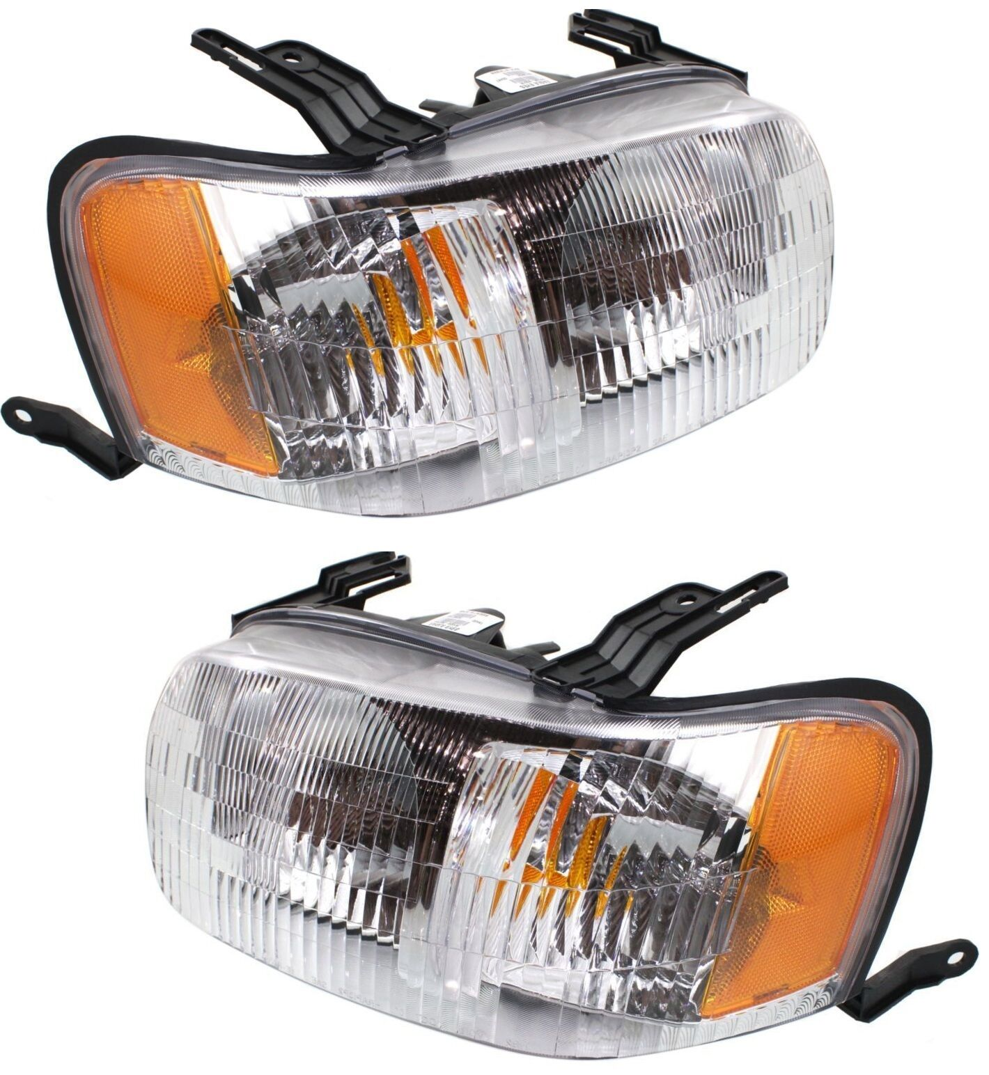 2001 2002 2003 2004 Ford Escape Head Lights Lamp Left & Right Pair Set 2Pcs  1 of 3FREE Shipping 2001 2002 2003 2004 Ford Escape Head Lights ...