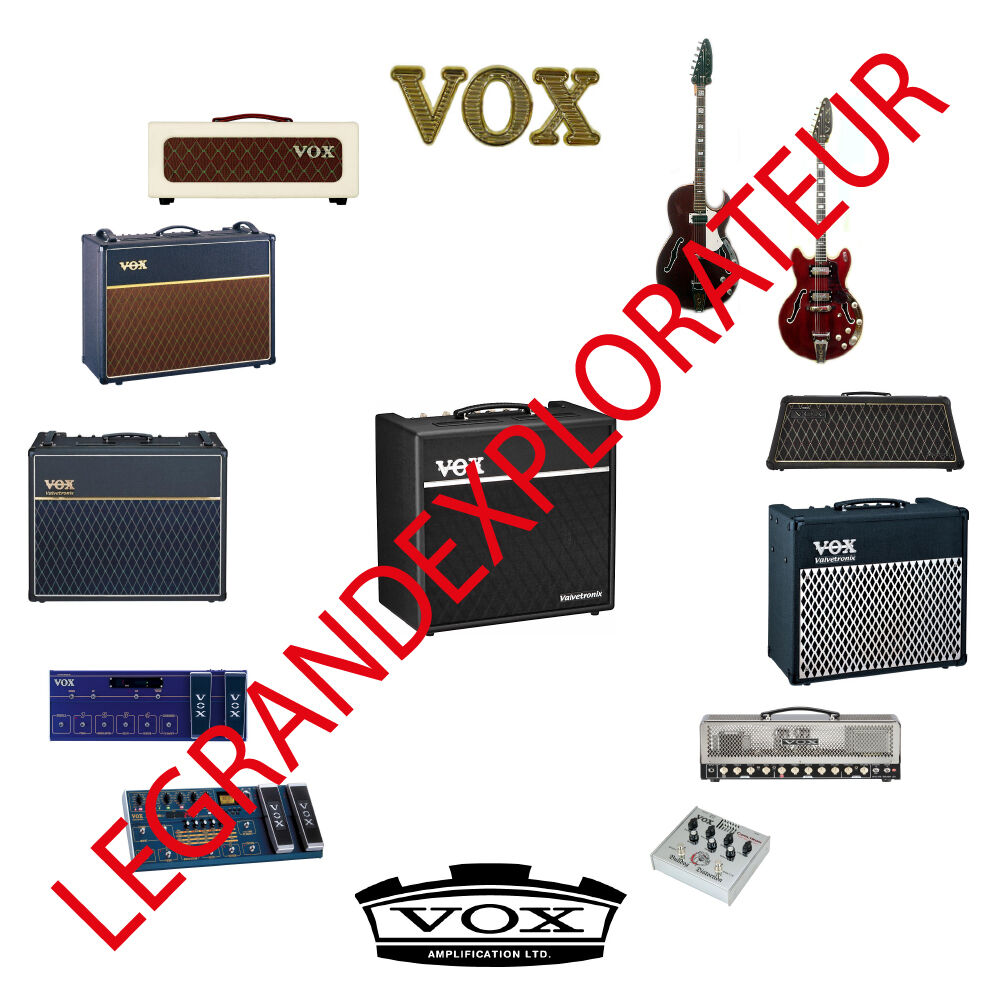 Ultimate Vox Operation Repair Service Manual Schematics Collection Carvin 1 Of 1only 2 Available