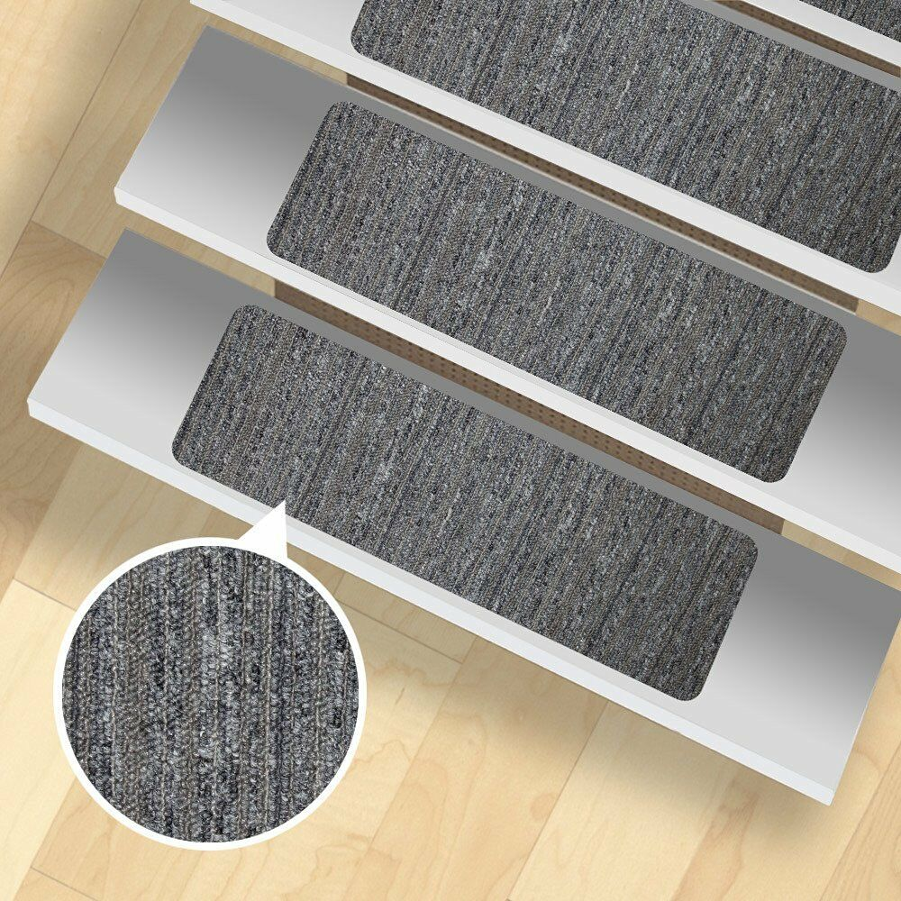 Non Slip Stairway Tread Set 13 Carpet Anti Skid Safety Rug Pad Step Stair  Assist 1 Of 4FREE Shipping Non Slip Stairway ...