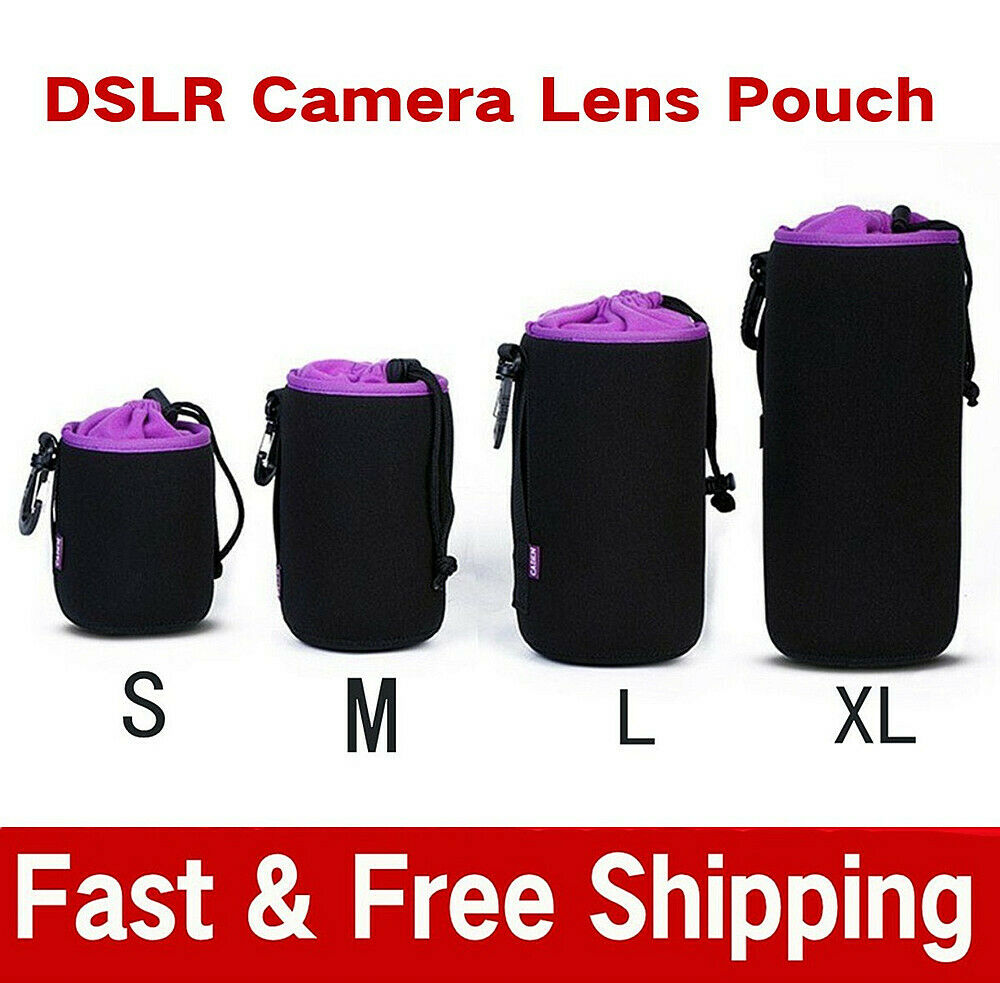 Waterproof Neoprene Dslr Camera Lens Soft Protector Pouch Case Bag Drybox Mirrorless Canon Eos M10 1 Of 7 See More