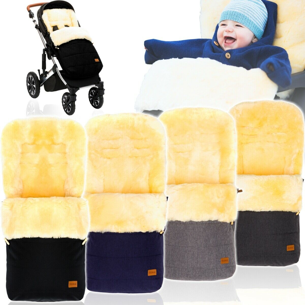 altabebe 100 lammfell winterfu sack kinder fu sack f r kinderwagen jogger buggy eur 79 99. Black Bedroom Furniture Sets. Home Design Ideas