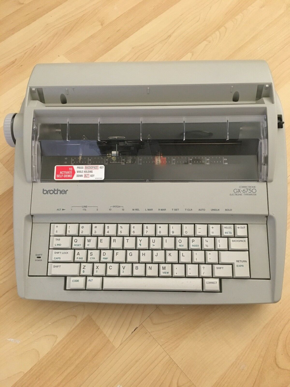 Brother Correctronic GX 6750 Electronic Typewriter ~ Great Condition 1 of  2Only 1 available ...