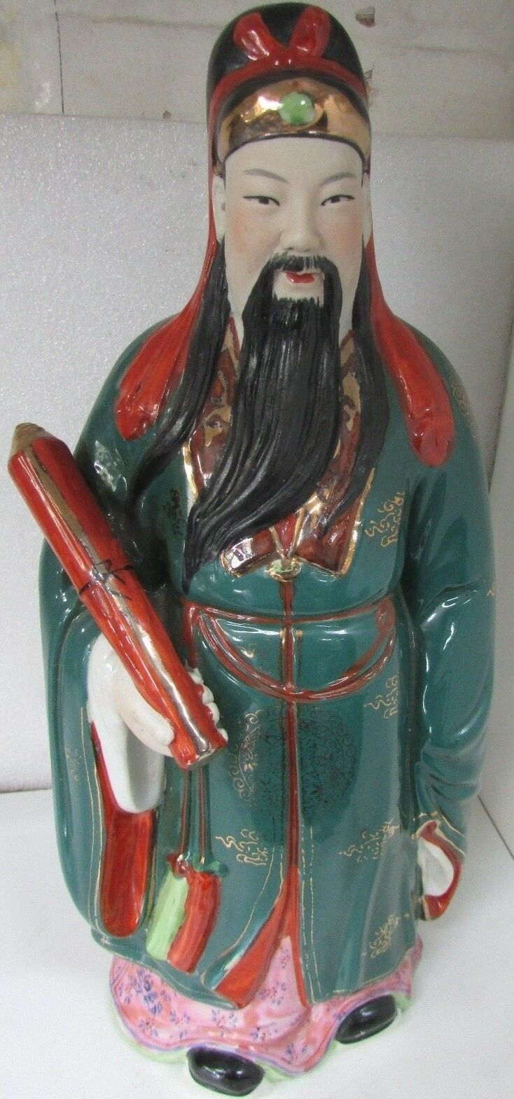 Hand Painted Chinese Immortals Statues