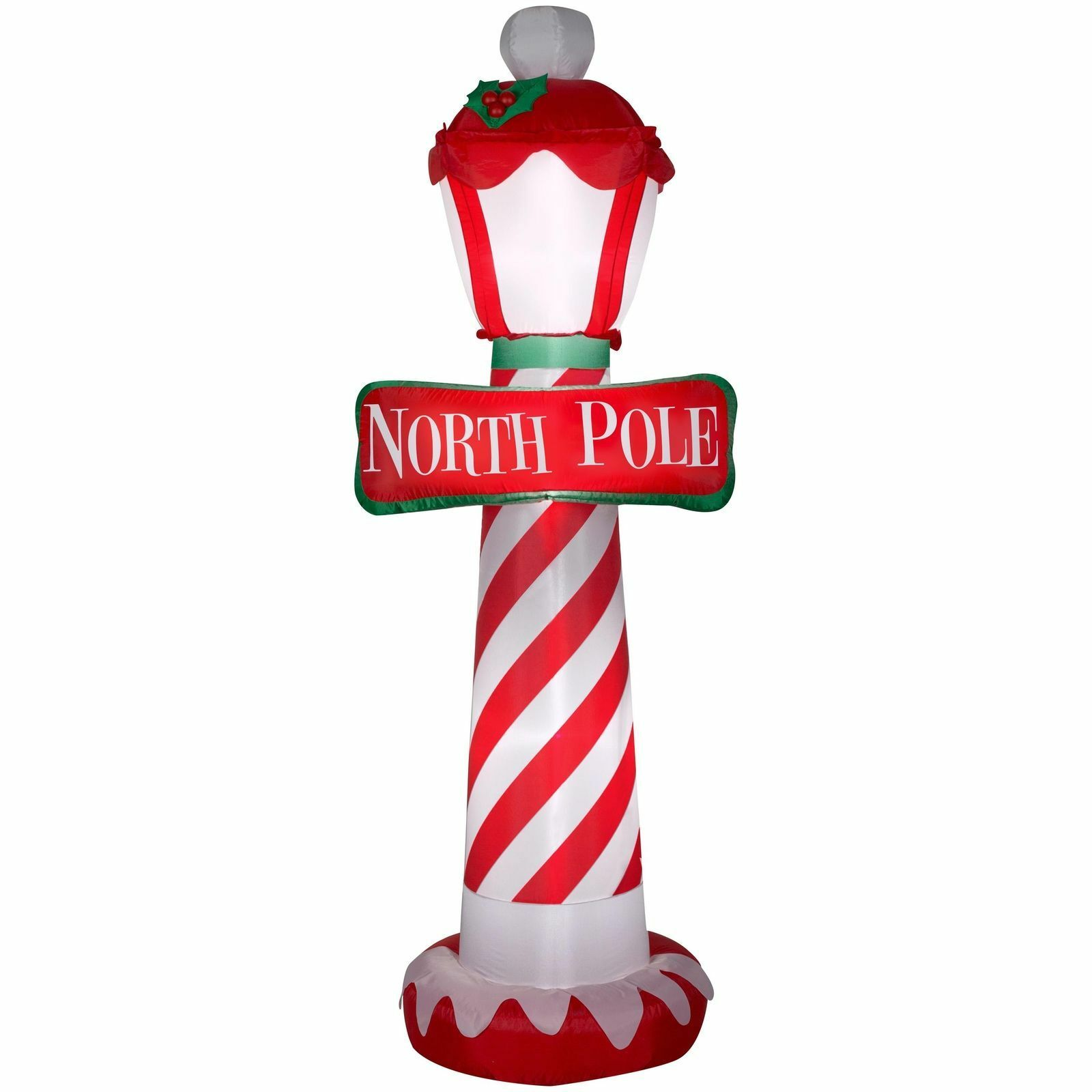 AIRBLOWN INFLATABLE-NORTH POLE 7ft tall by Gemmy Industries ...