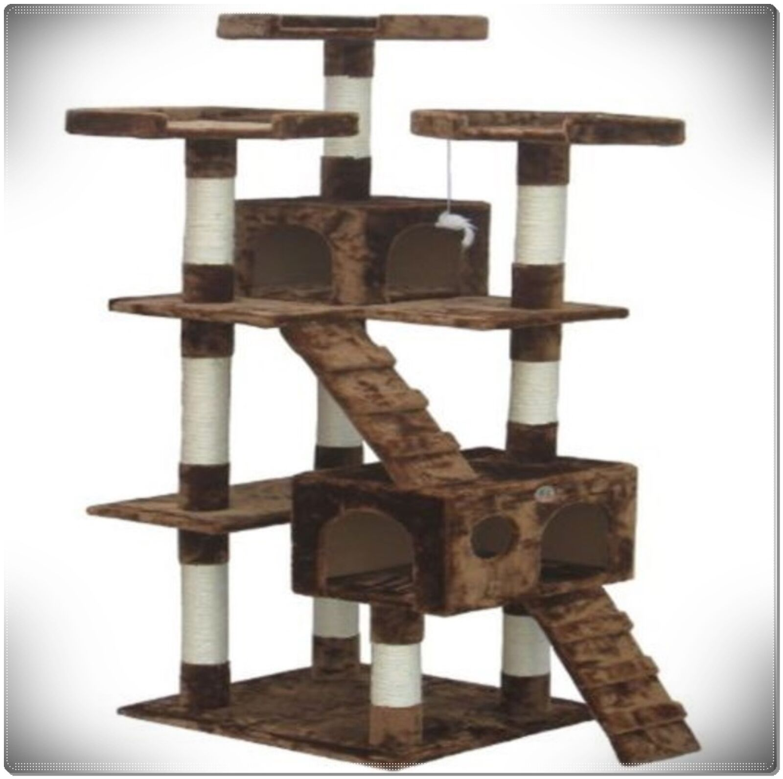 72 Cat Tree Tower Condo House For Large Cats Scratching Post Furniture Climbing Only 2 Available