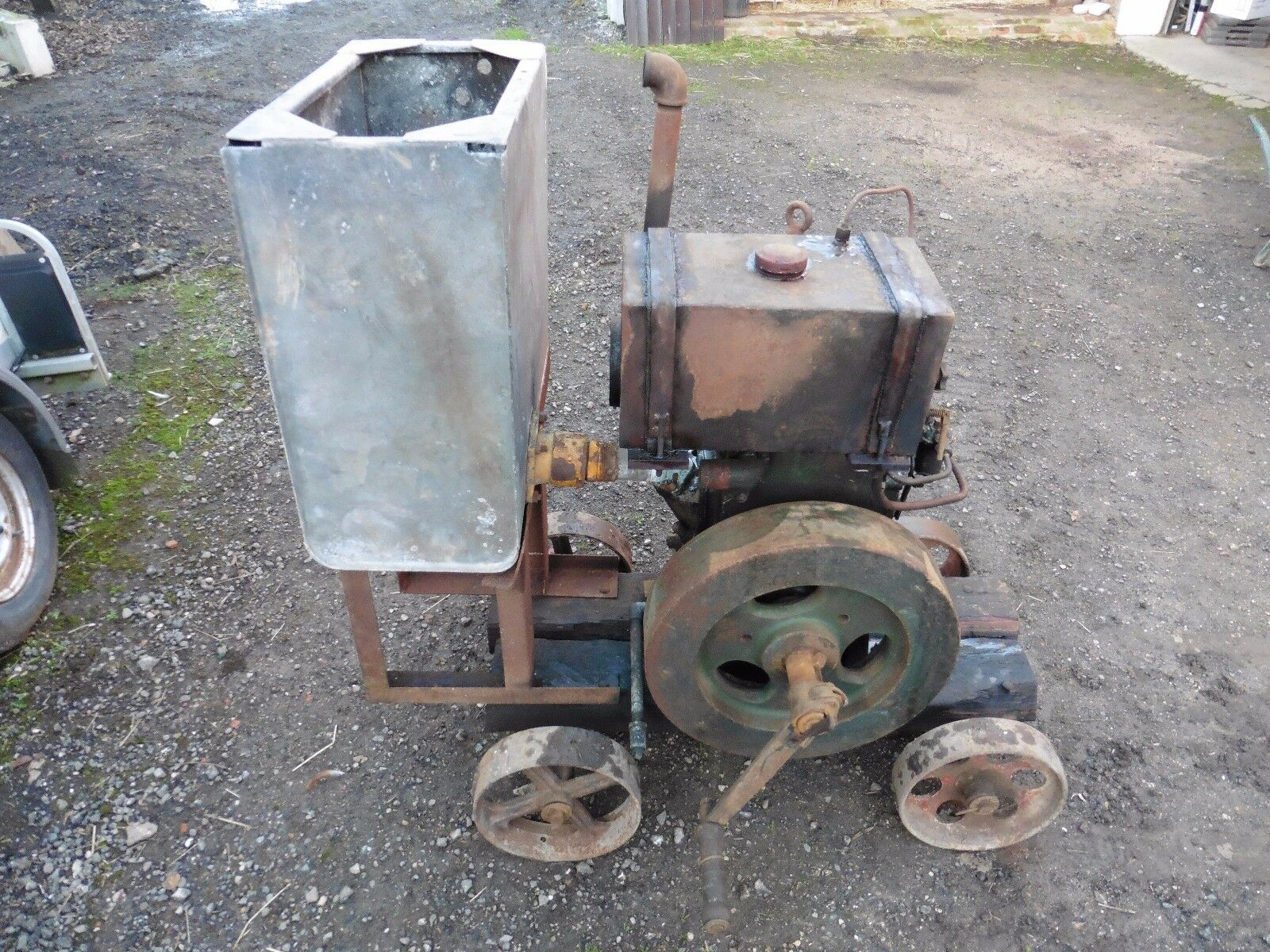 Ruston hornsby 1vth stationary engine for Stationary motors for sale
