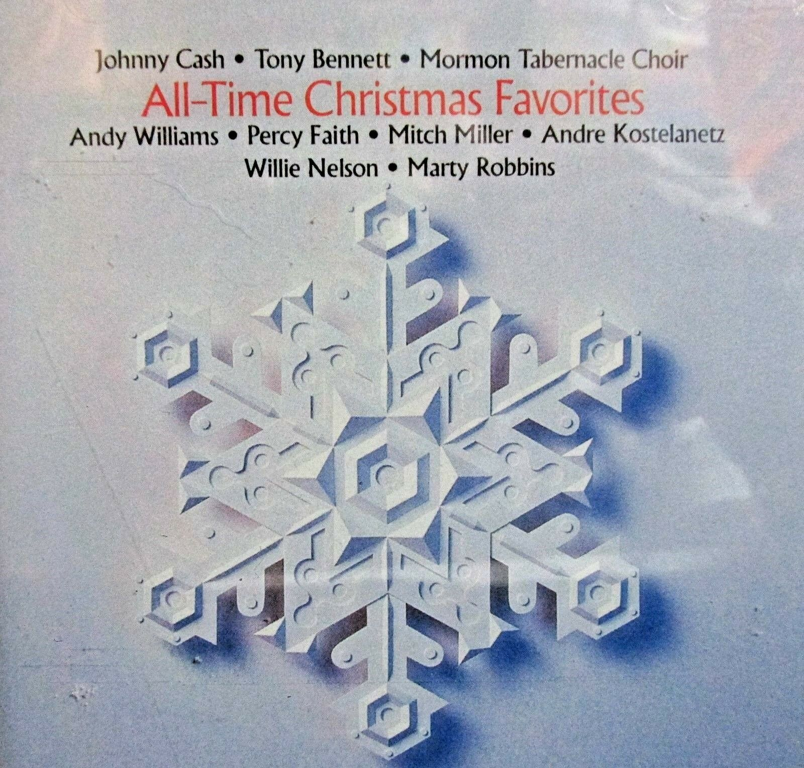 ALL-TIME CHRISTMAS FAVORITES NEW! CD, JOHNNY CASH,ANDY WILLIAMS ...