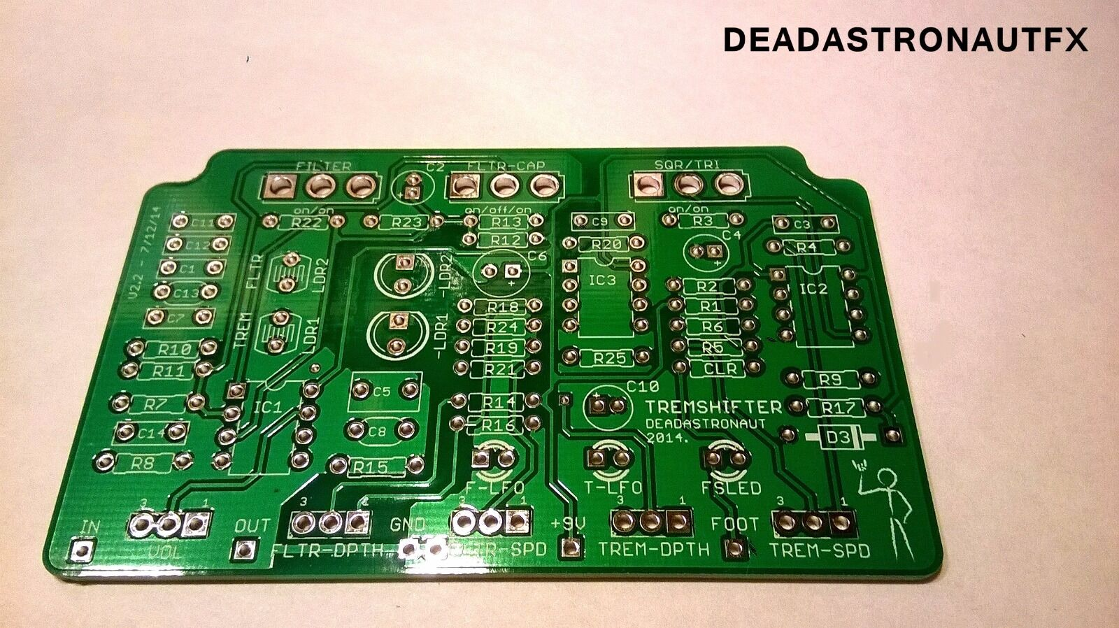 how to build guitar effects pedals