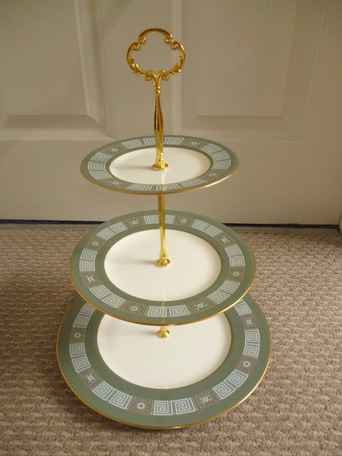Wedgwood Asia R4310 3 Tier Cake Stand 163 15 00 Picclick Uk