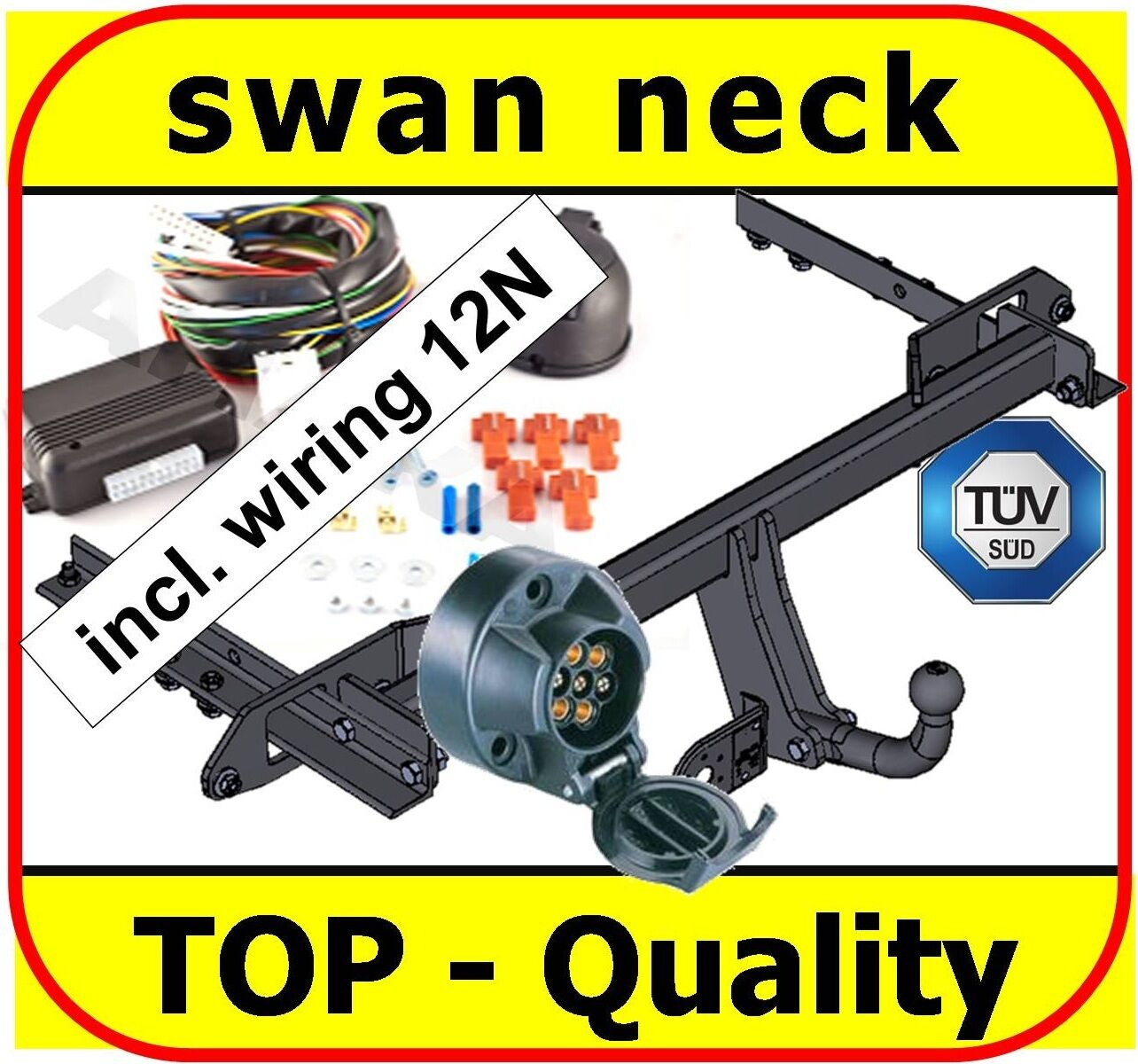 Towbar Electrics 7pin 12n Vauxhall Insignia Hatchback Saloon Tow Bar 1 Of 1only Available