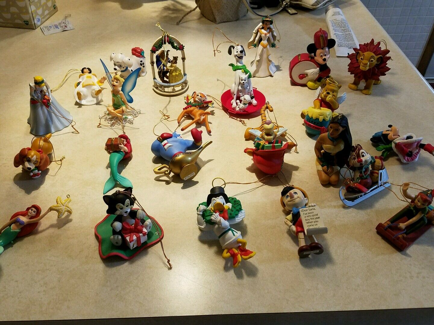 vintage disney christmas ornaments 1 of 1 see more - Disney Christmas Ornaments