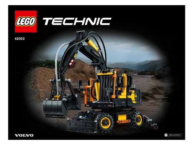 lego technic technik bauanleitung f r 42053 volvo bagger radlader neu eur 5 20 picclick de. Black Bedroom Furniture Sets. Home Design Ideas