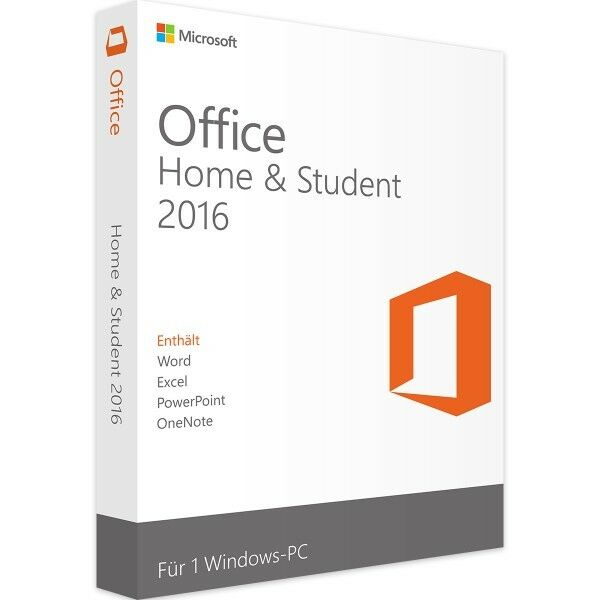 microsoft office home and student 2016 downloadversion eur 84 99 picclick de. Black Bedroom Furniture Sets. Home Design Ideas