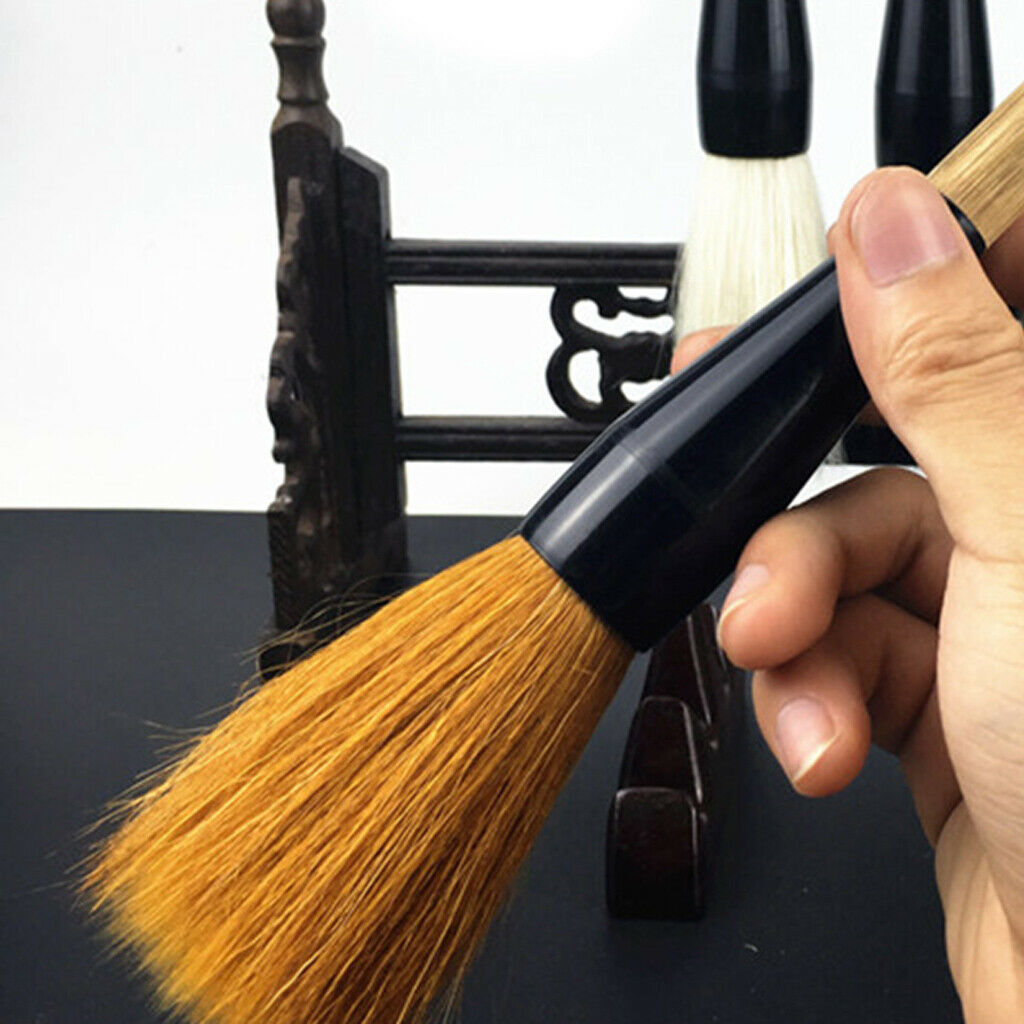Large Chinese Calligraphy Paint Brush Goat Hair Bamboo