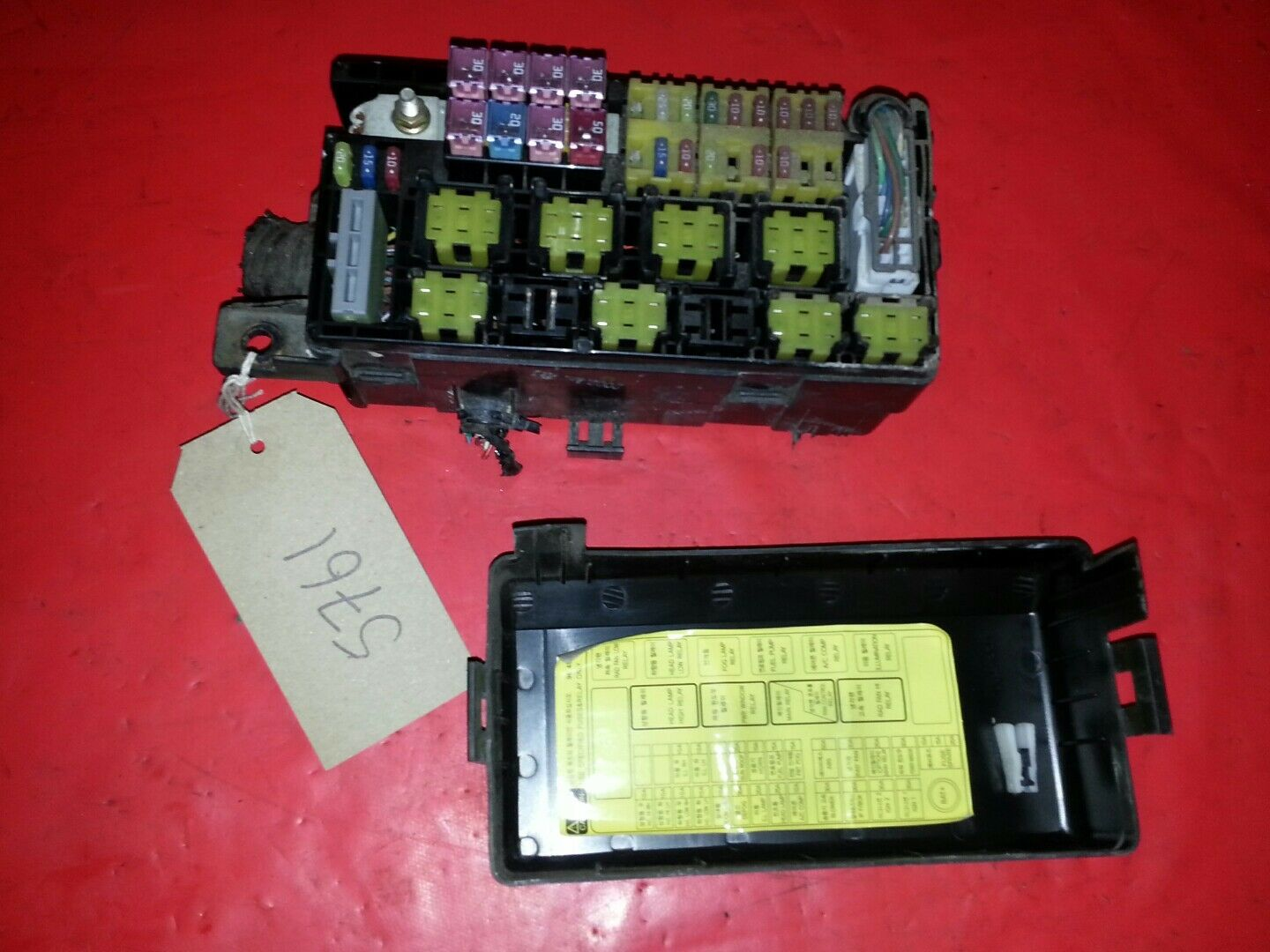 Daewoo Kalos 1.4 Petrol Engine Bay Fuse Box / Fusebox 2003-2005 1 of 4Only  1 available ...