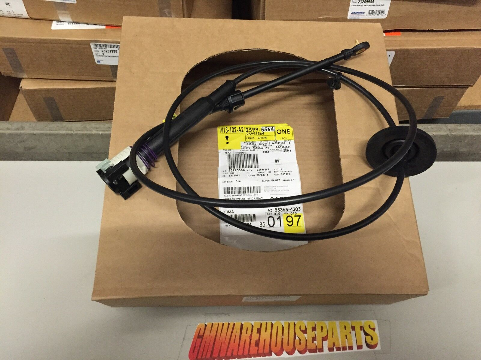 SILVERADO SIERRA TAHOE YUKON UPPER Shift Control Cable NEW GM